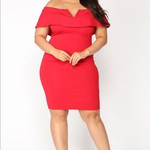 Fashion Nova Dresses - off the shoulder dress